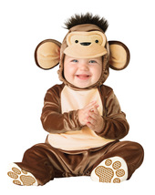 Infant / Toddlers Adorable Little Monkey Costume 12 to 18 Months - Free ... - $30.00