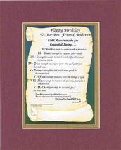 Personalized Touching and Heartfelt Poem for Motivations - Eight Require... - $16.33