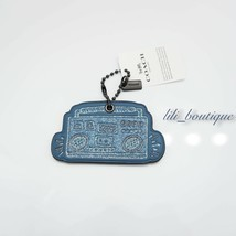 NWT Coach F28599 Keith Haring Glitter Boombox Hangtag Charm Leather Blue... - $24.95