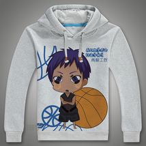 Kuroko No Basketball Hoodies Coat Costume - $46.99