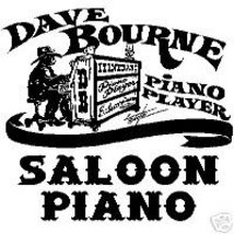 Saloon Piano Vol. 1 by Dave Bourne - $17.00