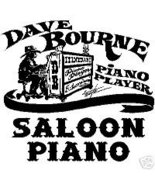 Saloon Piano Vol. 4 by Dave Bourne - $17.00