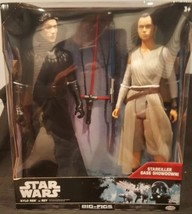 "Star wars Kylo Ren Vs Rey 18"" Big Figs Brand New In Box Starkiller base ... - $38.60"