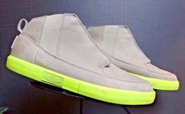 Men's Nike Air Jordan 414174-201 Slate Gray Leather Lace-Up High Top Sz.... - $33.24