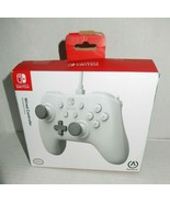 Official PowerA Nintendo Switch Wired Controller White Open Box - $17.99