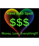 Remote Cast Have It All Money Love Protection Open3rd Eye Spell No Haunt... - $135.00