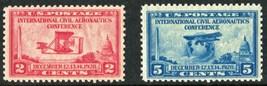 1928 International Civil Aeronautics Conference Set of 2 US Stamps 649-50 MNH