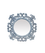 "Decorative And Hand Carved Indian Wall Mirror in TheKraftInc. Size : 23""... - $89.42"