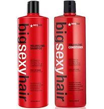 Big Sexy Volumizing Shampoo and Conditioner 33.8 oz Liter Duo Set - $61.37