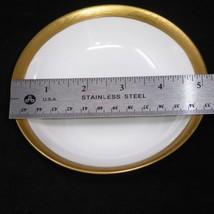"Hutschenreuther Selb LHS Bavaria Ivy Gold Rim 5 1/8"" Bowl - $8.38"