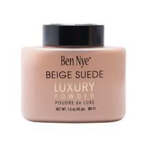 Ben Nye Luxury Powder, Beige Suede 1.5oz Shaker Bottle