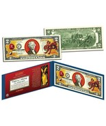 Chinese 12 Zodiac YEAR OF THE RABBIT Colorized USA $2 Dollar Bill Certified - $332,66 MXN