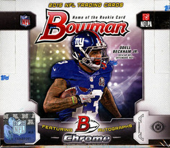2015 Bowman Football Hobby Box - Factory Sealed! - $94.50
