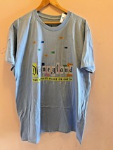 DISNEY PARKS DISNEYLAND RETRO ENTRANCE THE HAPPIEST PLACE ON EARTH SHIRT... - $44.09