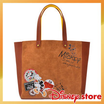 Disney Store Japan Vintage Mickey & Minnie Tote Bag Shoulder Bag Ladies - $137.61
