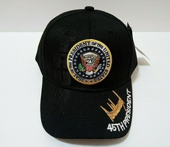 Donald Trump Seal Make America Great Again Keep America Great Black Hat - $13.63