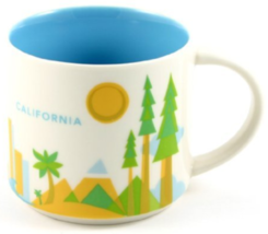 Starbucks California You Are Here Collection Coffee Mug NEW IN BOX - $39.95
