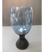 Lenox Tempo water glass blue Mist hand blown - $9.41