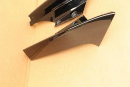 17-18 Nissan Rogue Rear Quarter Taillight Moldings Trims Extensions L&R image 4