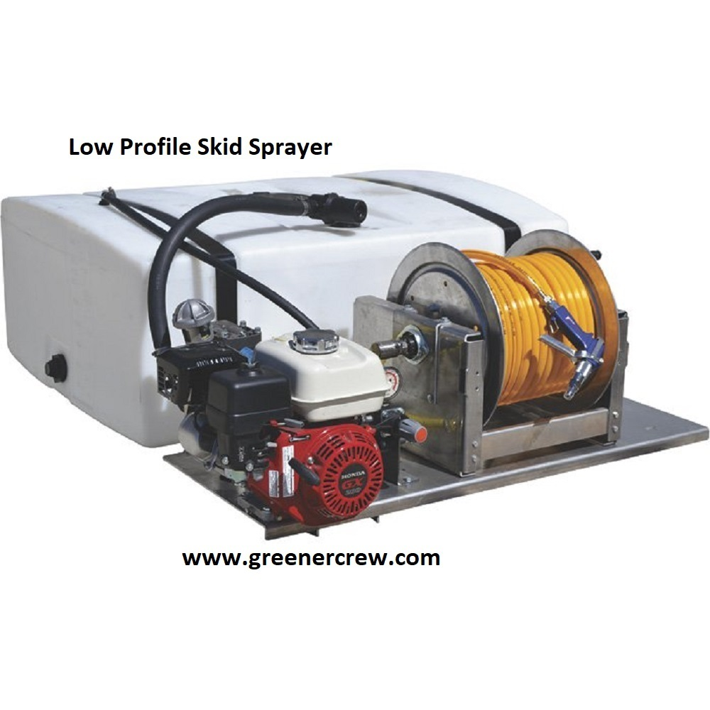 Low Profile 50 Gallon Skid Sprayer Commercial and 50 similar