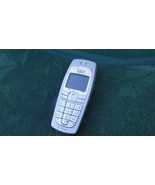 Vintage Nokia 6230i Silver T-Mobile 2G Sturdy Basic Easy Cellular Phone - $12.66