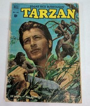 MLD VINTG 1951 Dell Comics Edgar Rice Burroughs' Tarzan Vol 1 No. 21 Comic Book - $9.49