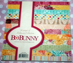 Bo Bunny  *6 x 6 PAPER STACK*   Asst. Color Choice   NEW - $5.99