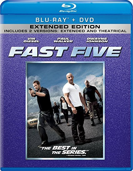 Fast Five [Blu-ray/DVD] (2011)