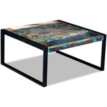 vidaXL Solid Reclaimed Wood Coffee Side Sofa End Table Living Room Stand - $130.99