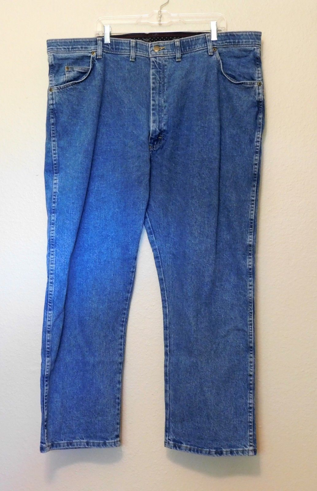 124af5a8 Wrangler Jeans Tag 46x30 Actual W47 Blue and 50 similar items