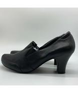 Easy Spirit Black  Pump Leather Women Heel Shoes, Size 9W. - $11.88