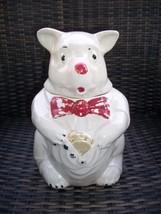 Vintage 1940's McCoy Pottery Bear Cookie Jar-Or... - $29.69