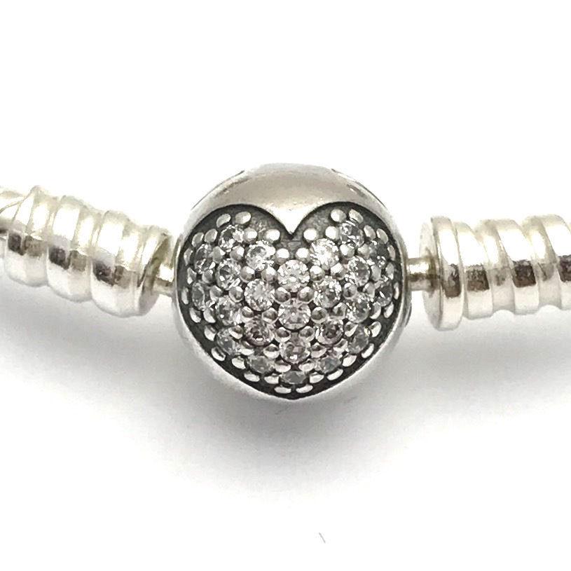 "Pandora Tribute to Mom Bracelet Gift Set, B800515-19, New in Box, Size 7.5"""