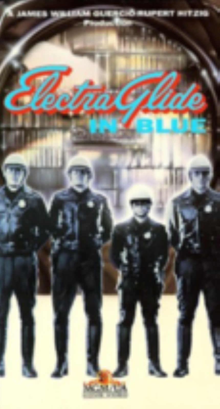 Electra Glide in Blue Vhs
