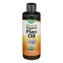 Nature's Way - EFAGold Flax Oil Organic - 16 fl oz - $16.09
