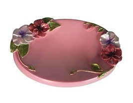 [Frowers Pink] Pretty Resin Soap Dishes Shower Soap Dish Soap Holders - £12.50 GBP