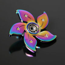 Rainbow Bauhinia Flower Fidget Toy - One Item w/Random Color and Design image 7