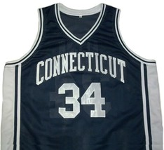 Ray Allen Connecticut Huskies Away College Jersey Any Size Free Wwjd Bracelet - $29.99