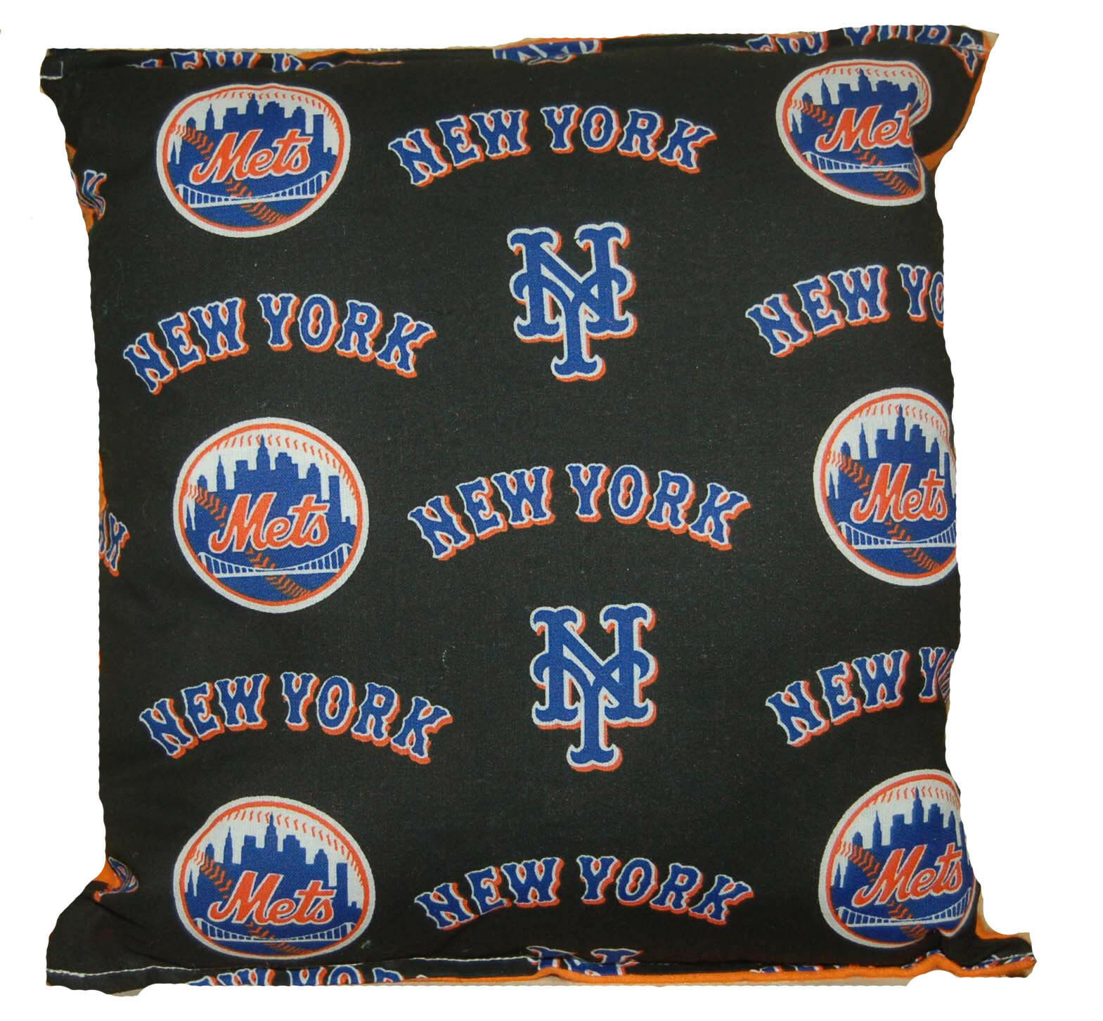 Primary image for Mets Pillow NY Mets New York Mets MLB Pillow Handmade in USA Met Baseball Pillow