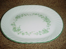 Corelle Callaway 12.25 Inch Oval Serving Platter Brand New With Label Free Ship - $28.04