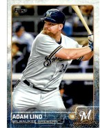 2015 Topps Series 2 Adam Lind #455 Milwaukee Brewers - $0.94