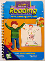 LeapFrog Leap Pad Reading I know Where My Food Goes, Booklet Only - $1.97