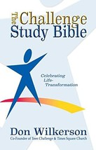CEV Challenge Study Bible- Hardcover [Hardcover] Wilkerson, Don - $49.99