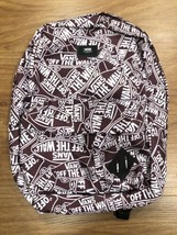 Vans Off The Wall Old School 3 All Over Print Backpack - Brown - $46.74