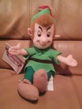 """The Disney Store Peter Pan mini Bean Bag 8"""" - $27.71"""
