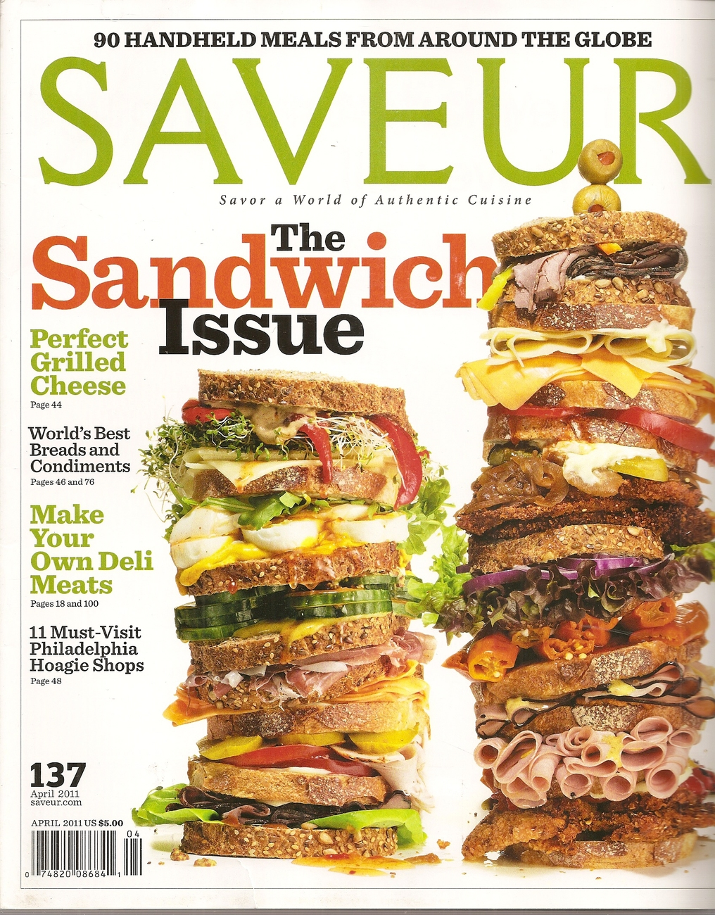 Primary image for SAVEUR  # 137  APRIL 2011