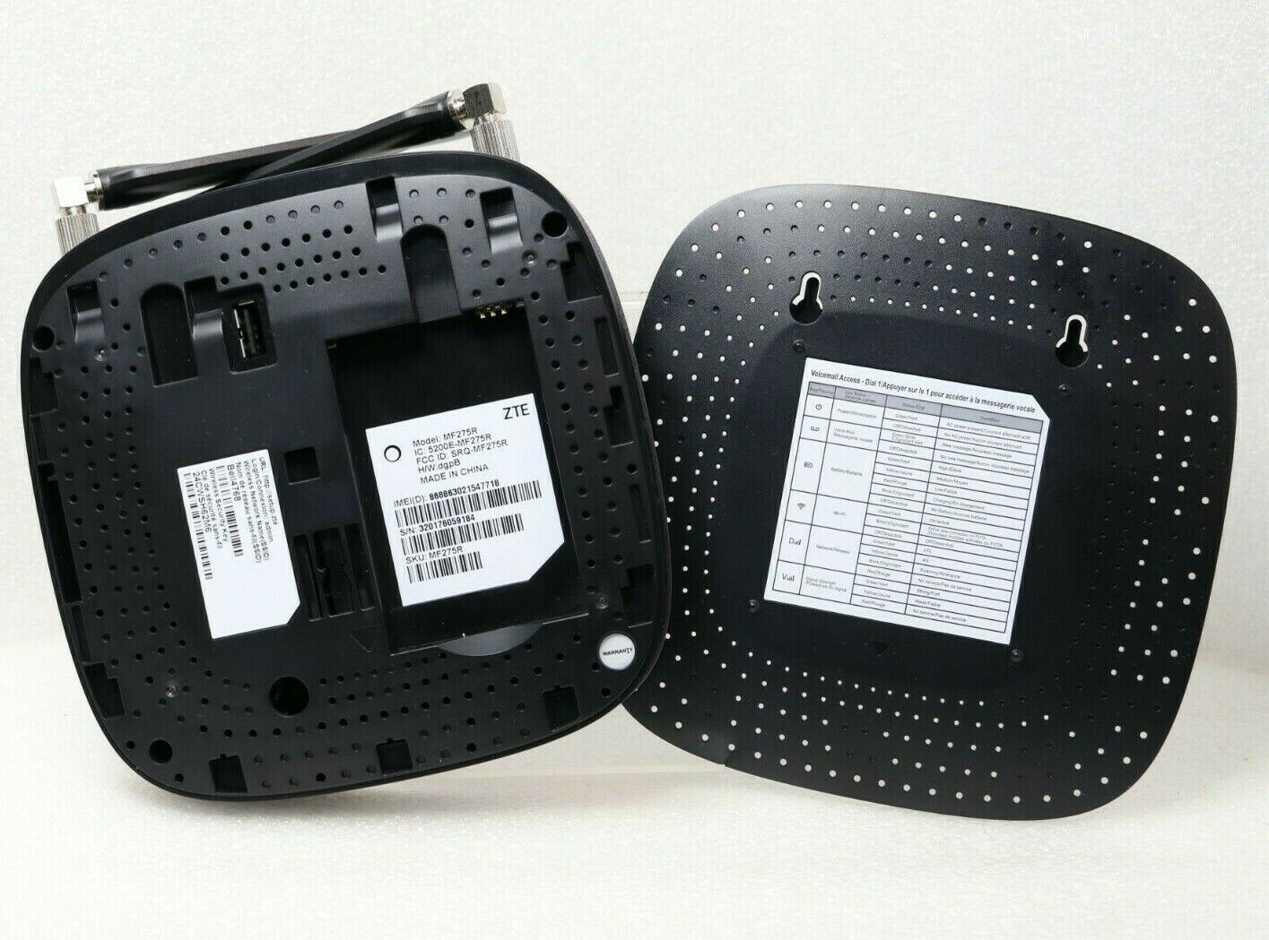 ZTE MF275R 4G LTE GSM Unlocked Home Base Wireless Internet Hotspot /& Phone Base