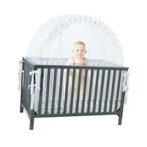 Pro Baby Safety Pop up Crib Tent: Premium Baby See Through White Net Cri... - $103.46