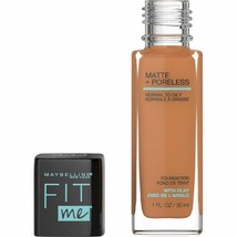 Maybelline New York Fit Me Matte + Poreless Foundation Warm Sun #334 - $8.79