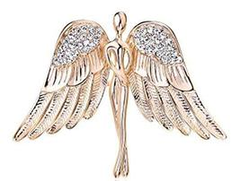 Men 's Brooch Angel Wings Corsage Women' s Sweater Cardigan Shawl Brooch - €16,13 EUR